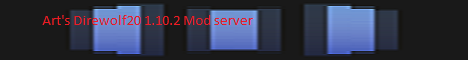 Banner for Arthemetis's DireWolf20 1.10.2 Minecraft server
