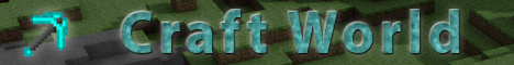 Banner for Craft World Minecraft server