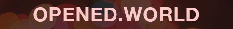 Banner for Opened World Minecraft server