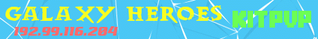 Banner for Galaxy heroes Minecraft server
