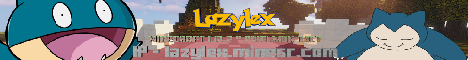 Banner for Lazylex - Serveur Pixelmon FR server
