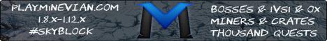 Banner for Minevian Server server