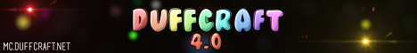 Banner for DuffCraft Minecraft server