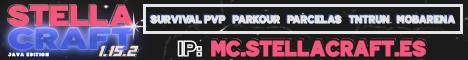 Banner for StellaCraft server