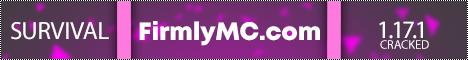 Banner for FirmlyMC server
