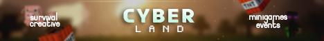 Banner for Cyber_Land server