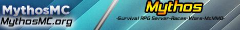 Banner for Mythos | Realm of Mianite Based Server | 24/7 server