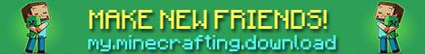 Banner for Make Friends in Minecraft server
