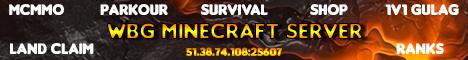 Banner for WBG Minecraft Server server