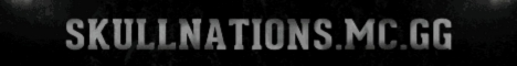 Banner for SkullNations Minecraft server
