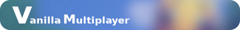 Banner for Vanilla Multiplayer server