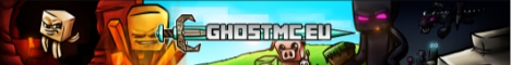 Banner for GhostMC.EU Network 1.8.X / 1.9 Minecraft server