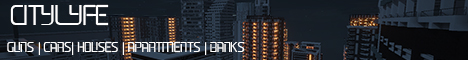 Banner for CityLyfe Minecraft server