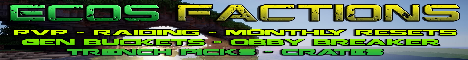 Banner for Ecos Factions server