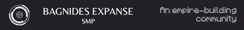 Banner for Bagnides SMP server