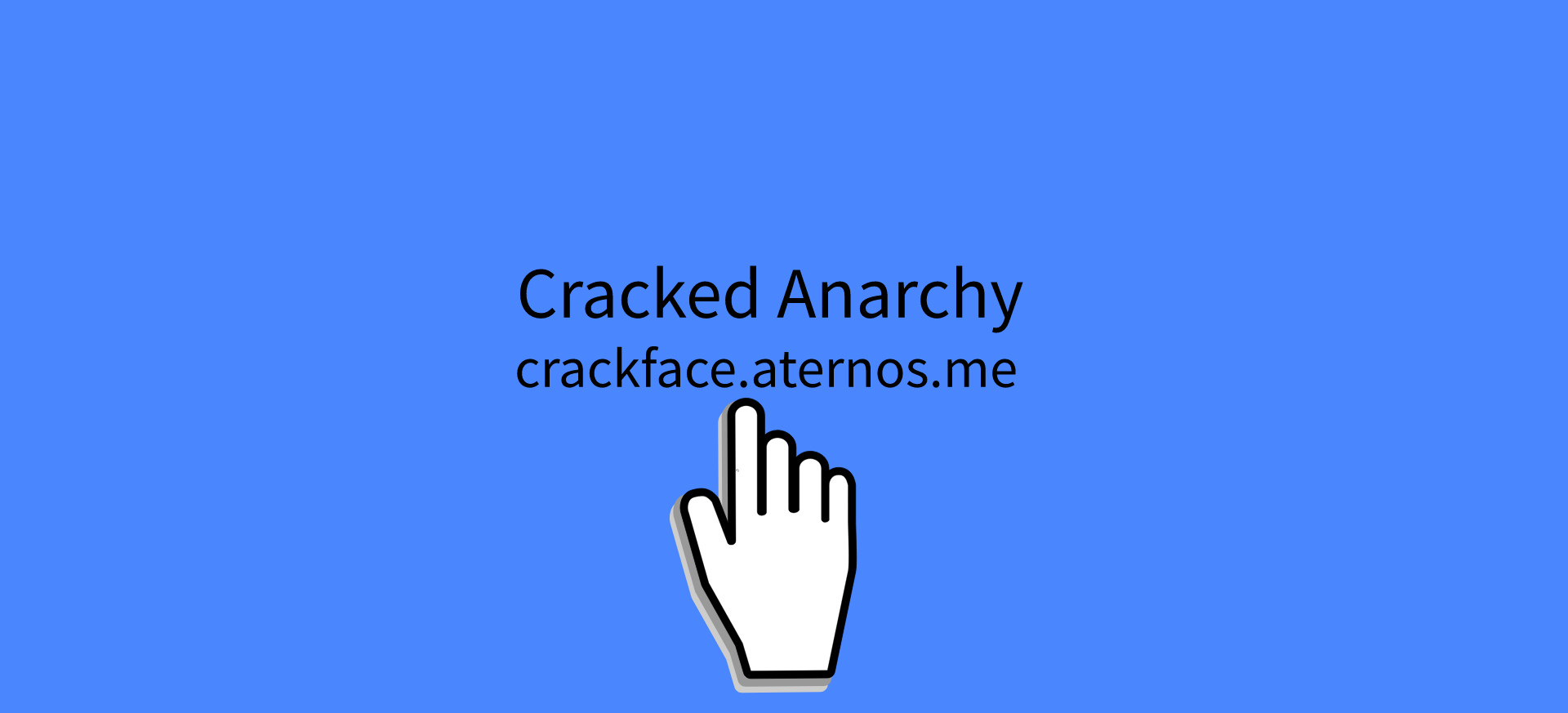 Banner for Cracked Anarchy server