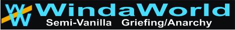 Banner for WindaWorld server