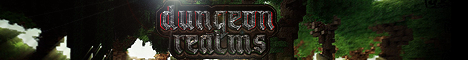 Banner for DungeonRealms Minecraft server