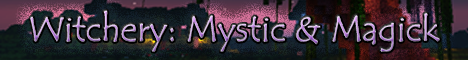 Banner for Witchery: Mystic & Magick Minecraft server