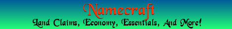 Banner for Namecraft server
