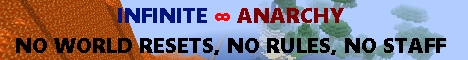 Banner for Infinite Anarchy server