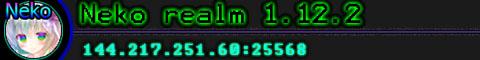Banner for Neko Realm Minecraft server