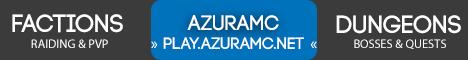 Banner for AzuraMC server