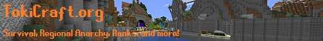 Banner for Toki Craft server