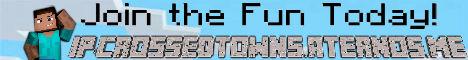 Banner for CrossedTowns(Cracked Server) Minecraft server