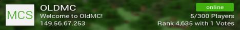 Banner for OldMc Minecraft server