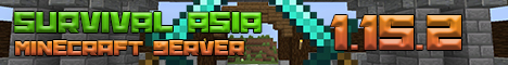 Banner for Survival Asia Minecraft Network Minecraft server