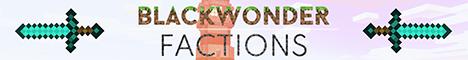 Banner for Blackwonder | Minecraft | Factions server