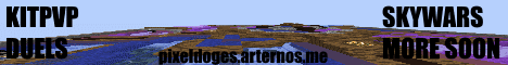 Banner for Pixeldoges Minecraft server