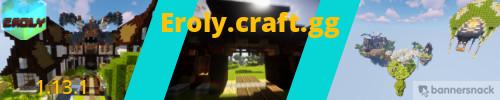 Banner for Eroly Minecraft server