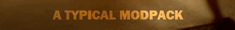 Banner for A Typical Modpack server