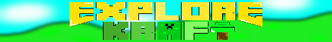 Banner for ExploreKraft server