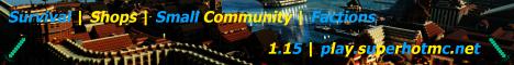 Banner for SuperHOT MC server