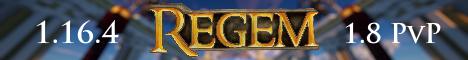 Banner for Regem Kingdom server