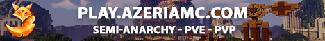 Banner for AzeriaMC Survival server
