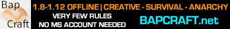 Banner for Bapcraft Minecraft server