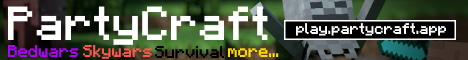 Banner for PartyCraft server