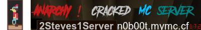 Banner for 2Steves1Nation server