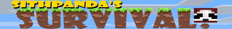 Banner for SithPanda's Survival! server