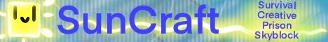 Banner for SunCraft server