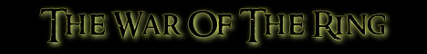 Banner for The War of the Ring MC Minecraft server