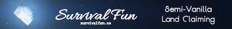 Banner for Survival Fun server