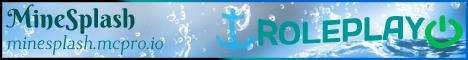Banner for MineSplash server