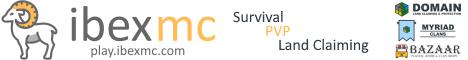 Banner for IbexMC server