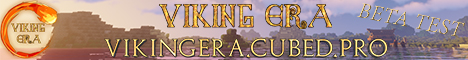 Banner for Viking Era Minecraft server