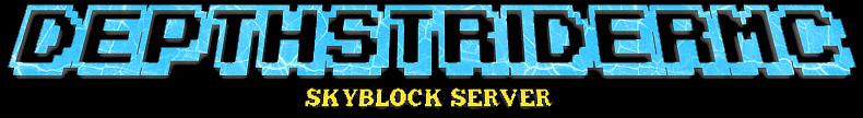 Banner for DepthStriderMC Minecraft server